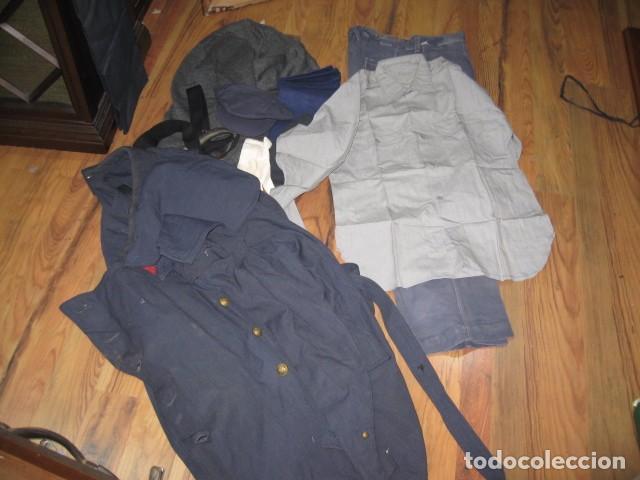 Militaria: Uniforme completo Ejercito del Aire, gorras, tres cuartos, cazadora, pantalones, corbatas, guantes - Foto 2 - 64311043