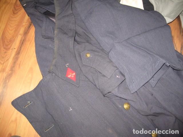 Militaria: Uniforme completo Ejercito del Aire, gorras, tres cuartos, cazadora, pantalones, corbatas, guantes - Foto 3 - 64311043