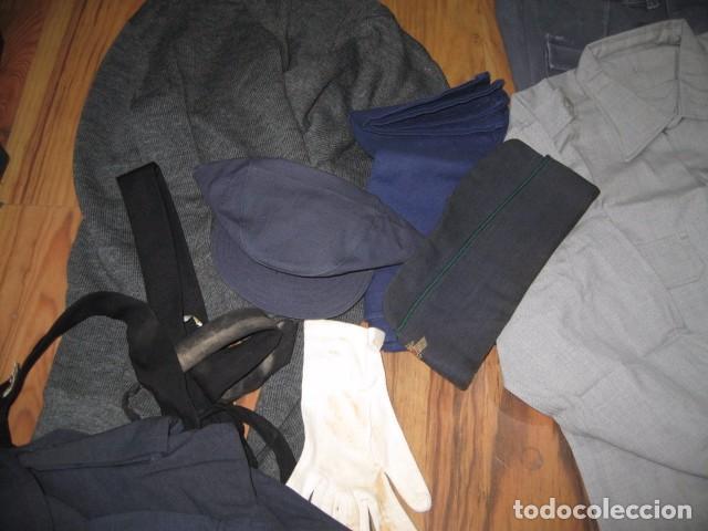 Militaria: Uniforme completo Ejercito del Aire, gorras, tres cuartos, cazadora, pantalones, corbatas, guantes - Foto 4 - 64311043