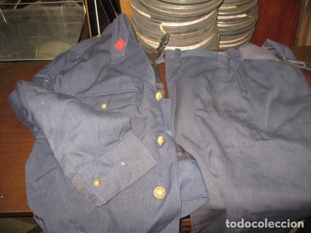 Militaria: Uniforme completo Ejercito del Aire, gorras, tres cuartos, cazadora, pantalones, corbatas, guantes - Foto 6 - 64311043