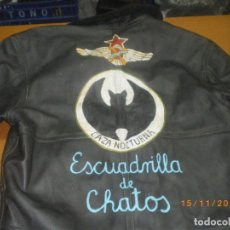 Militaria: CHAQUETA CUERO AVIACION REPUBLICANA GUERRA CIVIL. Lote 66877538
