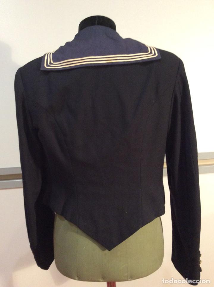 Militaria: Uniforme chaquetilla corta de marinero de la armada, cabo epoc Alf XIII, naval, marina. - Foto 4 - 67754839