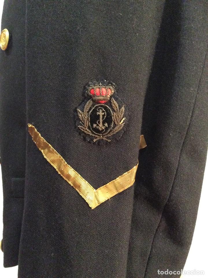 Militaria: Uniforme chaquetilla corta de marinero de la armada, cabo epoc Alf XIII, naval, marina. - Foto 7 - 67754839