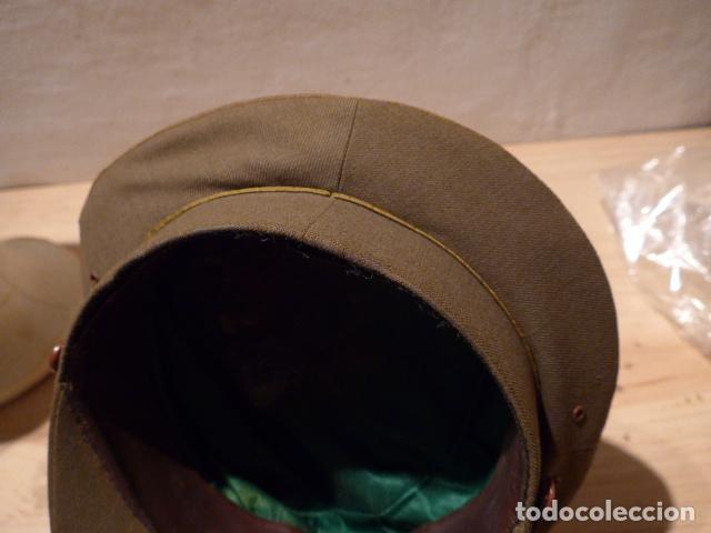 Militaria: Precioso uniforme bordado de capitan republica y guerra civil. Gorra, gorrillo, guerrera, pantalon. - Foto 17 - 70408217