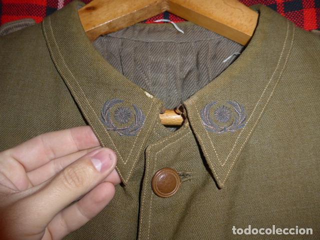 Militaria: Precioso uniforme bordado de capitan republica y guerra civil. Gorra, gorrillo, guerrera, pantalon. - Foto 19 - 70408217