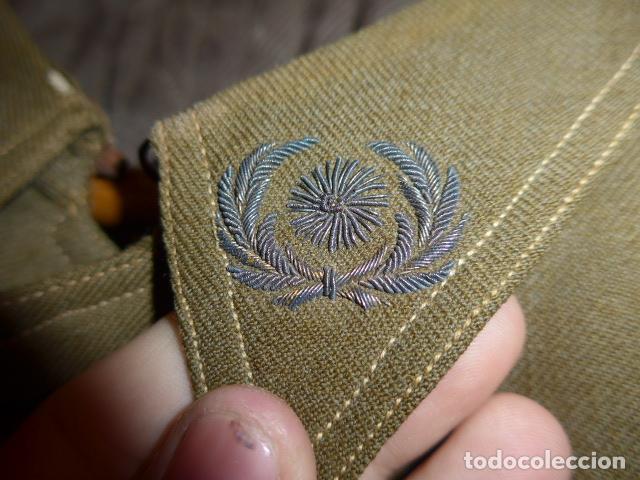 Militaria: Precioso uniforme bordado de capitan republica y guerra civil. Gorra, gorrillo, guerrera, pantalon. - Foto 20 - 70408217