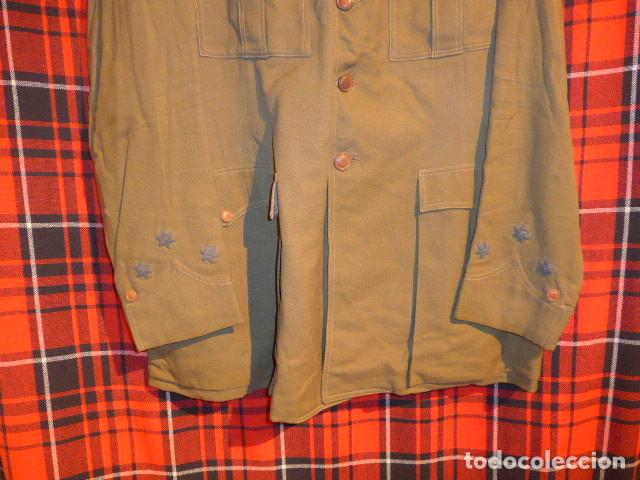 Militaria: Precioso uniforme bordado de capitan republica y guerra civil. Gorra, gorrillo, guerrera, pantalon. - Foto 23 - 70408217