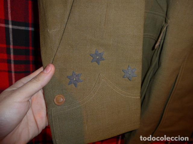 Militaria: Precioso uniforme bordado de capitan republica y guerra civil. Gorra, gorrillo, guerrera, pantalon. - Foto 25 - 70408217