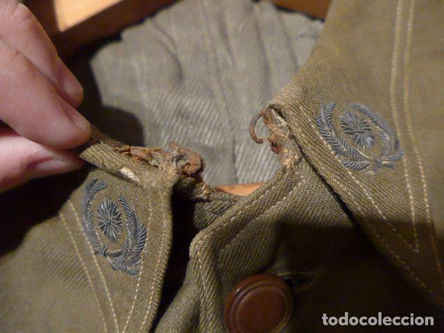 Militaria: Precioso uniforme bordado de capitan republica y guerra civil. Gorra, gorrillo, guerrera, pantalon. - Foto 28 - 70408217