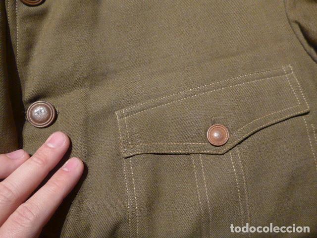 Militaria: Precioso uniforme bordado de capitan republica y guerra civil. Gorra, gorrillo, guerrera, pantalon. - Foto 29 - 70408217