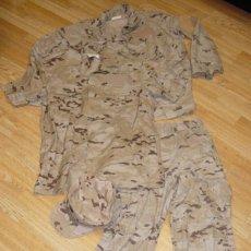 Militaria: UNIFORME MILITAR EJÉRCITO ESPAÑOL DESIERTO, ARIDO. Lote 74207687