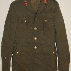 Militaria: CHAQUETA DE ALFEREZ DE FARMACIA MILITAR REGLAMENTO DE 1943. Lote 75149767