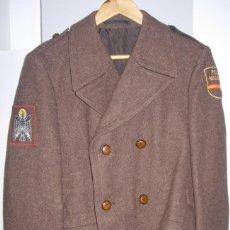 Militaria: CHAQUETA 3/4 POLICIA NACIONAL, NUEVA,FINALES DE LOS 70 O PPIO. DE LOS 80, MARRÓN, MARRONES, MADEROS,. Lote 83508688