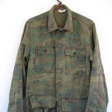 Militaria: CAMISOLA WOODLAND INFANTERÍA DE MARINA. GUERRERA TEAR. GRANDE. M82 FN. Lote 83687160