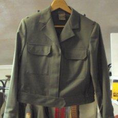 Militaria: CHAQUETA MUJER EJÉRCITO ESPAÑOL. Lote 85603392