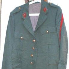 Militaria: GUERRERA VERDE INVIERNO GUARDIA CIVIL AÑOS 70. Lote 89681180
