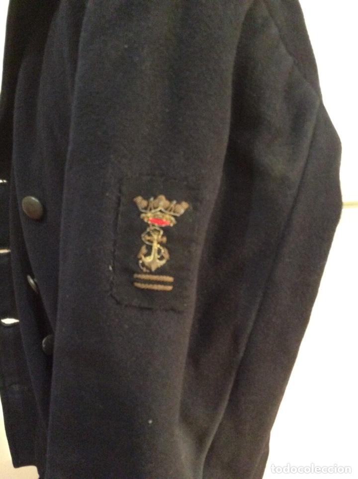 Militaria: Uniforme de marinero de aspirante 2 ENM Marina años 40 Chaquetón y pantalón Armada Guardia marina - Foto 2 - 67757846