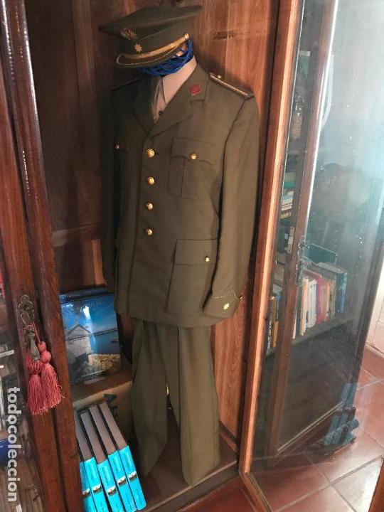 Militaria: Uniforme comandante Intendencia época de Franco - Foto 8 - 92872350