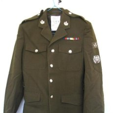 Militaria: GUERRERA BRITÁNICA DEL RCT (ROYAL CORPS OF TRANSPORTS),PIONEER (INGENIEROS), MBLEMAS,PASADOR,PARCHES. Lote 93877265