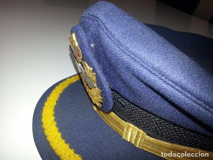 Militaria: ANTIGUO UNIFORME MILITAR COMANDANTE EJERCITO DEL AIRE EPOCA FRANCO CON GORRA CINTURON CHAQUETON - Foto 11 - 95225851