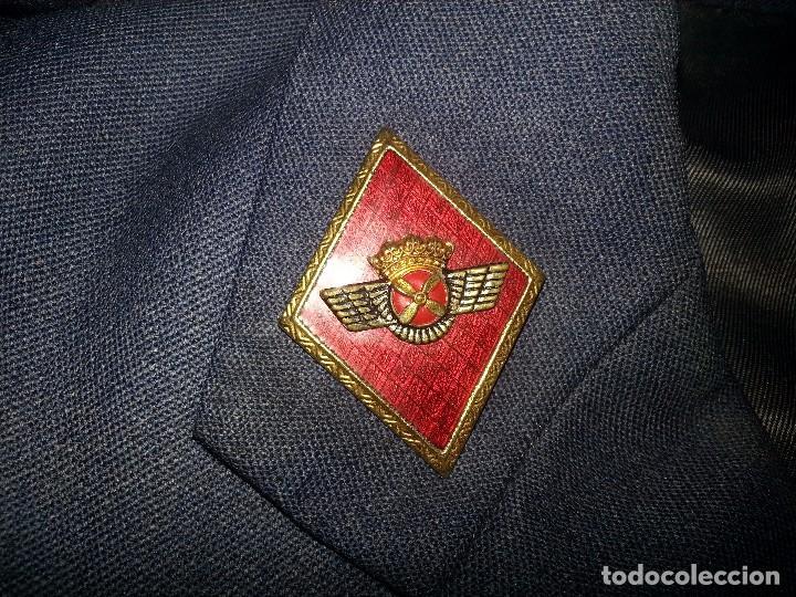 Militaria: ANTIGUO UNIFORME MILITAR COMANDANTE EJERCITO DEL AIRE EPOCA FRANCO CON GORRA CINTURON CHAQUETON - Foto 45 - 95225851