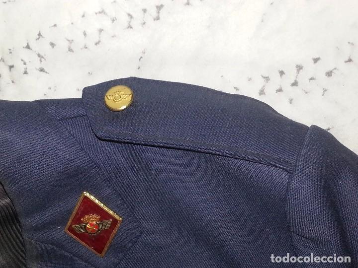 Militaria: ANTIGUO UNIFORME MILITAR COMANDANTE EJERCITO DEL AIRE EPOCA FRANCO CON GORRA CINTURON CHAQUETON - Foto 51 - 95225851