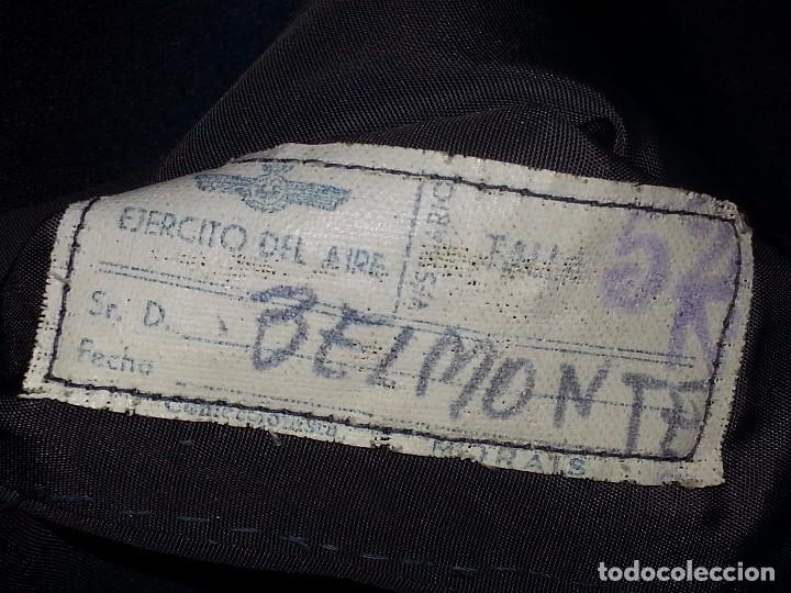 Militaria: ANTIGUO UNIFORME MILITAR COMANDANTE EJERCITO DEL AIRE EPOCA FRANCO CON GORRA CINTURON CHAQUETON - Foto 81 - 95225851