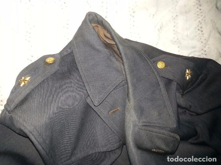 Militaria: ANTIGUO UNIFORME MILITAR COMANDANTE EJERCITO DEL AIRE EPOCA FRANCO CON GORRA CINTURON CHAQUETON - Foto 97 - 95225851