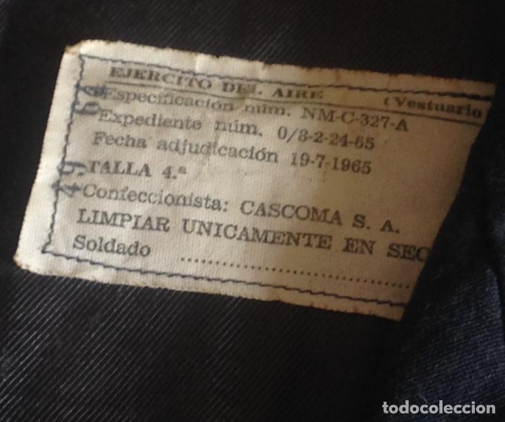 Militaria: CHAQUETILLA CORTA AVIACIÓN. EJERCITO DEL AIRE. - Foto 4 - 95607967