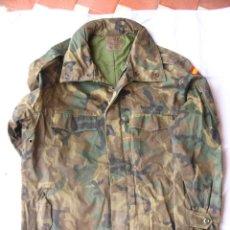 Militaria: CHAQUETON E.T. AÑO 1991, TALLA 1, USADO,CON CAPUCHA Y SIN PANTALON, FALTA UN BOTON. Lote 97532011