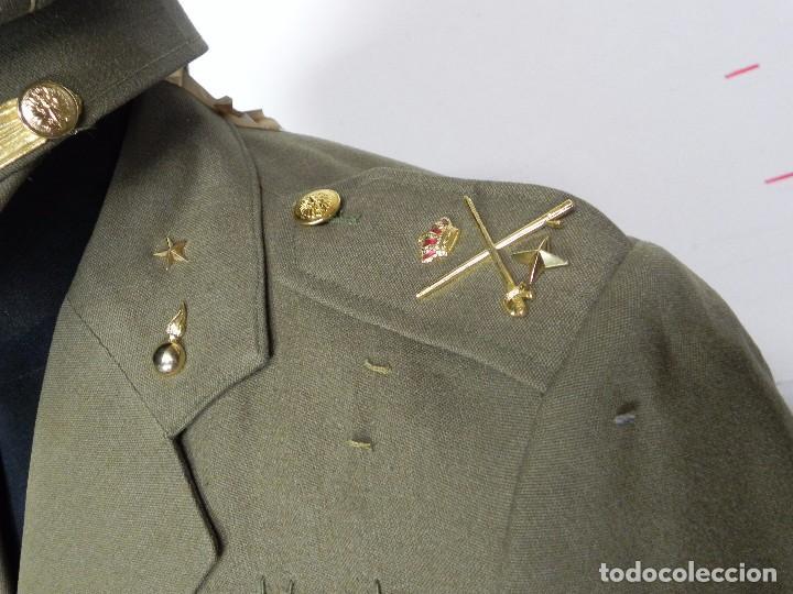 Militaria: ANTIGUO UNIFORME DE GENERAL DEL ESTADO MAYOR, ARMA DE ARTILLERIA, CON ANGULO DE HERIDO, LLEVA CHAQUE - Foto 5 - 97579859