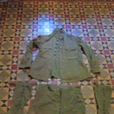 Militaria: ANTIGUO UNIFORME MILITAR ESPAÑOL DE INFANTERIA EPOCA ALFONSO XIII - ORIGINAL , CHAQUETA , PANTALON ,. Lote 97794519