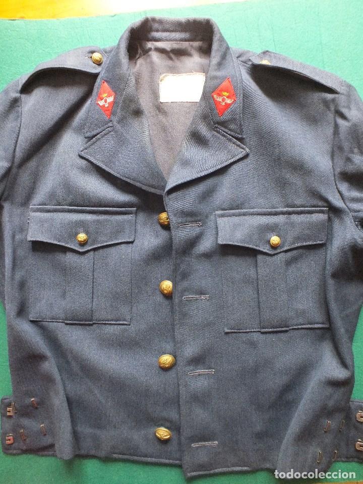 CAZADORA AVIACIÓN UNIFORME EJERCITO DEL AIRE MILITAR FRANCO (Militar - Uniformes Españoles )