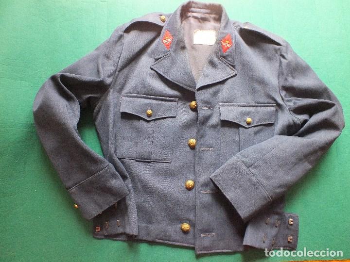 Militaria: CAZADORA AVIACIÓN UNIFORME EJERCITO DEL AIRE MILITAR FRANCO - Foto 2 - 99348587