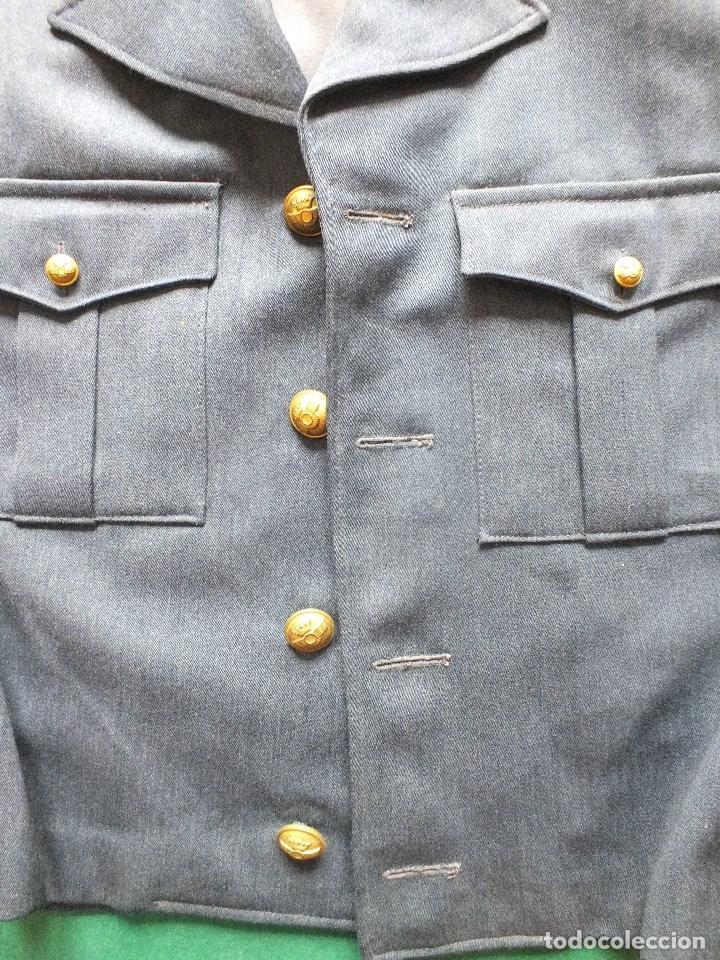 Militaria: CAZADORA AVIACIÓN UNIFORME EJERCITO DEL AIRE MILITAR FRANCO - Foto 3 - 99348587
