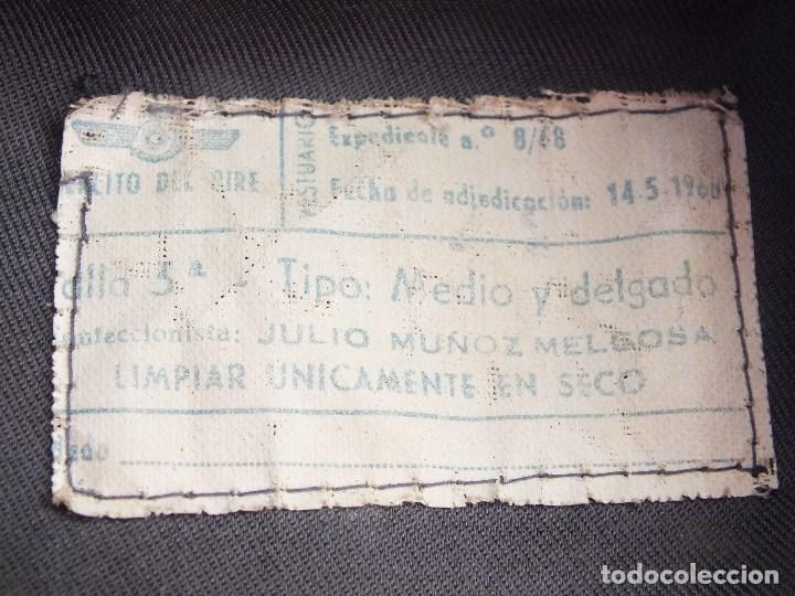 Militaria: CAZADORA AVIACIÓN UNIFORME EJERCITO DEL AIRE MILITAR FRANCO - Foto 8 - 99348587