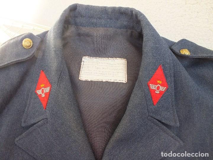 Militaria: CAZADORA AVIACIÓN UNIFORME EJERCITO DEL AIRE MILITAR FRANCO - Foto 12 - 99348587