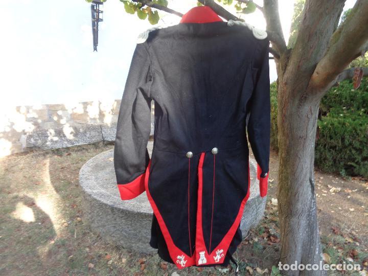 Militaria: levita y pantalon gala guardia civil epoca Alfonso XIII - Foto 3 - 100149643