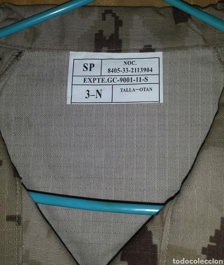 Militaria: UNIFORME PIXELADO ÁRIDO ORIGINAL EJÉRCITO T-3N - Foto 2 - 100940912