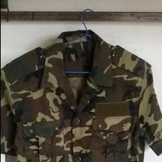 Militaria: CHUPITA MIMETIZADA DE MANGA CORTA, TALLA 2. Lote 102496707