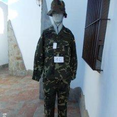 Militaria: UNIFORME EJERCITO ESPAÑOL GORRO, CHAQUETA Y PANTALÓN NUEVO. Lote 102680767