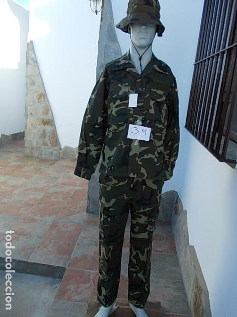 UNIFORME EJERCITO ESPAÑOL GORRO, CHAQUETA Y PANTALÓN NUEVO 3-M (Militar - Uniformes Españoles )