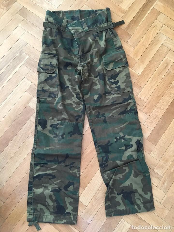 Pantalon Militar Ano 1990 Original Ejercito Esp Comprar Uniformes Militares Espanoles En Todocoleccion 103887071