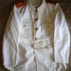 Militaria: GUERRERA UNIFORME BLANCO CAPITAN EJÉRCITO DEL AIRE, PALAS DE METACRILATO. Lote 104551823