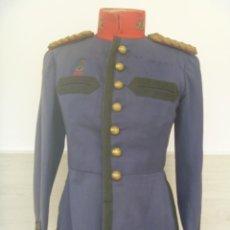 Militaria: GUERRERA CAPITAN INFANTERIA REGTO. TOLEDO Nº 35. PERMANENCIA REGULARES LARACHE Nº 4. ALFONSO XIII. Lote 105656527