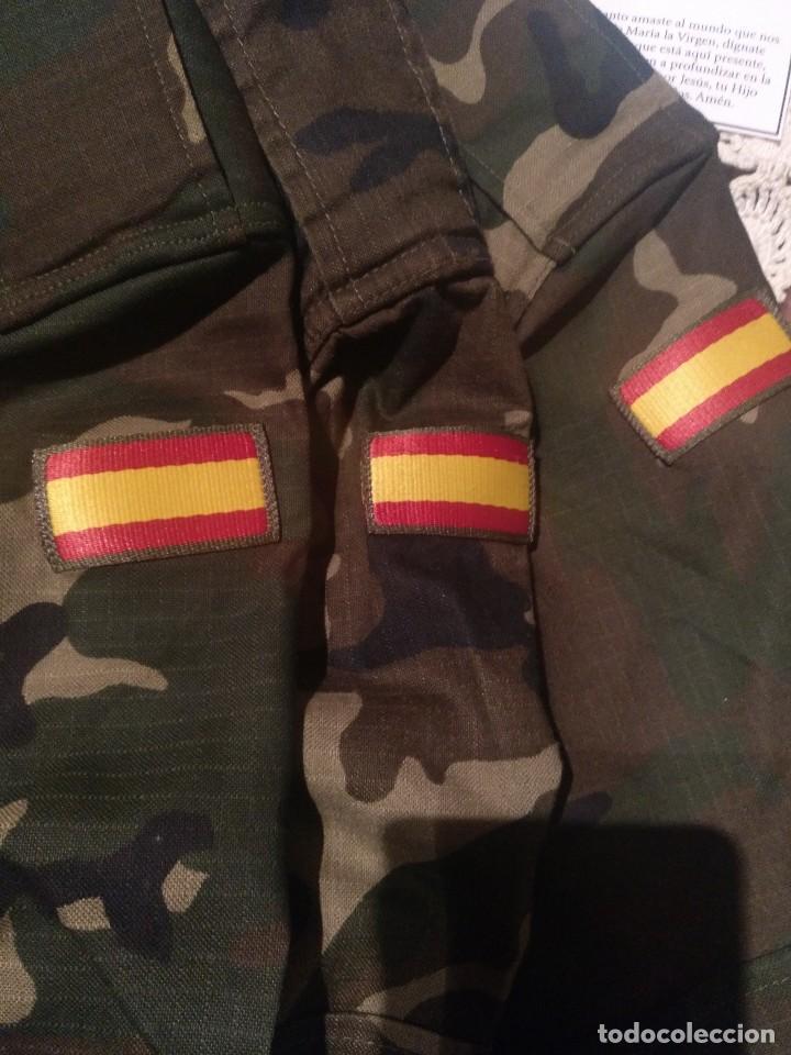 LOTE CHUPITAS CAMUFLAJE BOSCOSO (Militar - Uniformes Españoles )