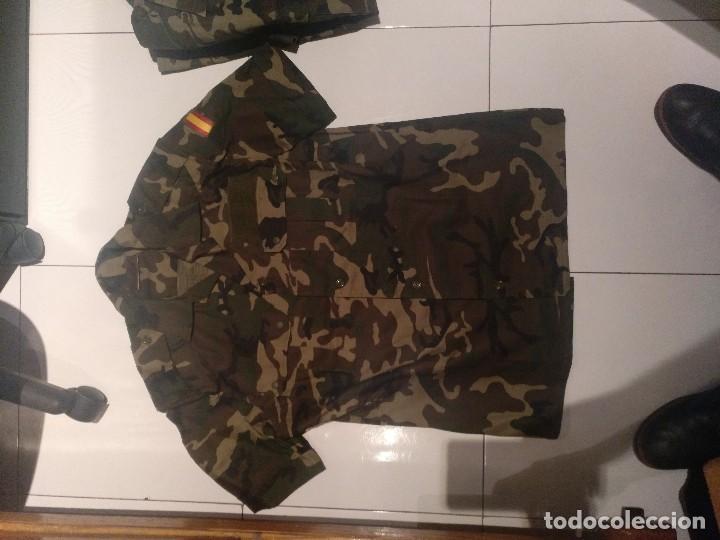 Militaria: Lote Chupitas camuflaje boscoso - Foto 2 - 105843343