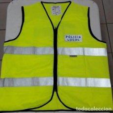 Militaria: UNIFORME POLICÍA. CHALECO FLUORESCENTE POLICIA LOCAL TALLA L. Lote 109501335