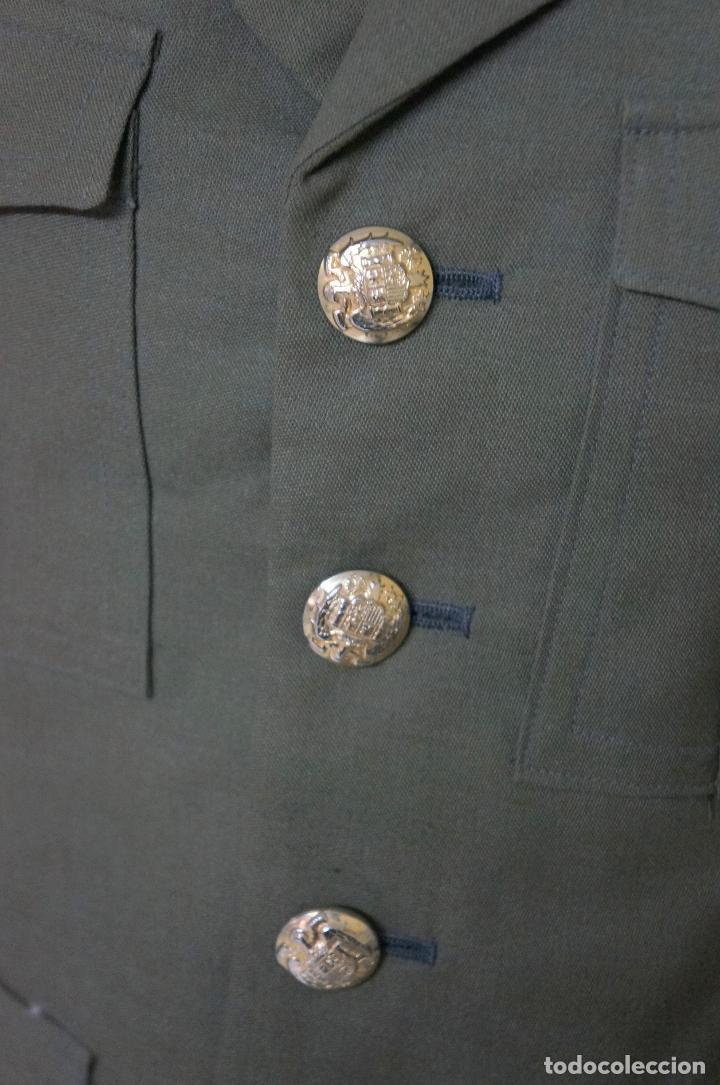 Militaria: UNIFORME MILITAR SARGENTO DE INGENIEROS EJERCITO DE TIERRA BOTONES POLICÍA ARMADA - Foto 4 - 146974482