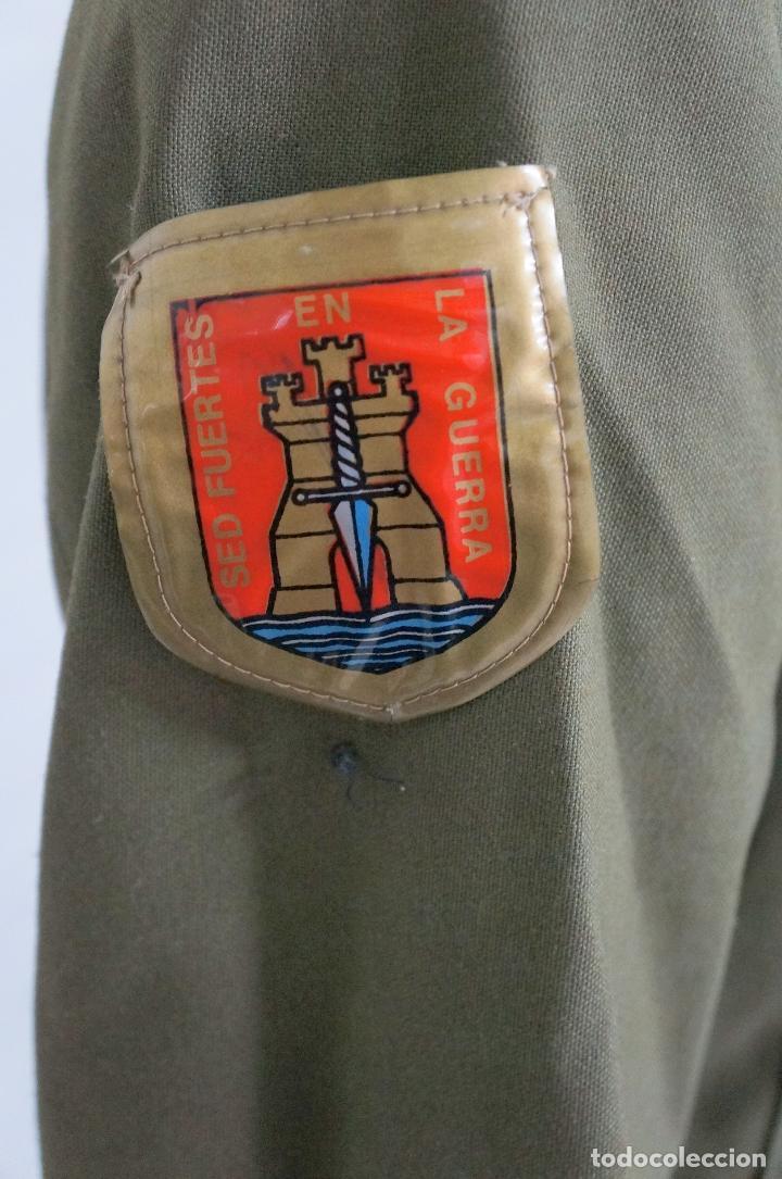 Militaria: UNIFORME MILITAR SARGENTO DE INGENIEROS EJERCITO DE TIERRA BOTONES POLICÍA ARMADA - Foto 5 - 146974482